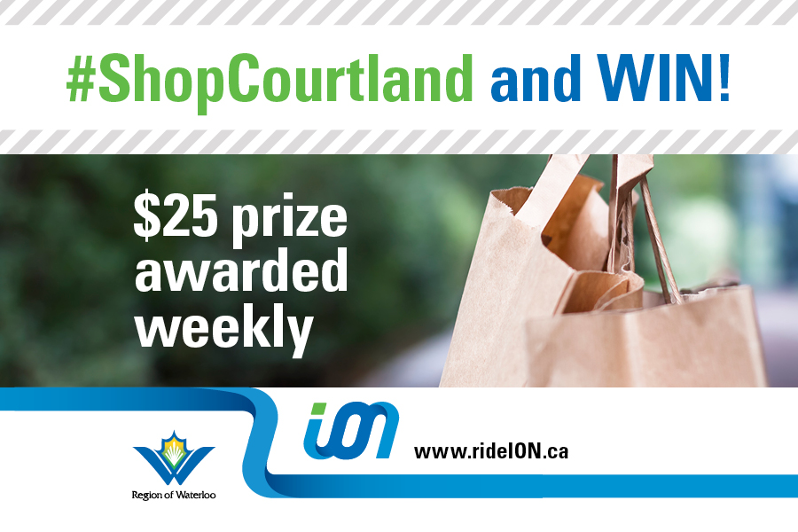 shop courtland for a chance to win